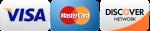 Visa - Mastercard - Discover